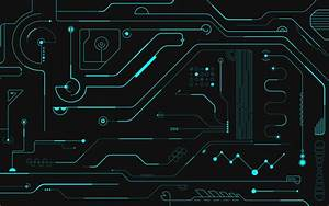 Wallpaper Printed Circuit Board  Electronic Circuit  Pattern  Line  Background