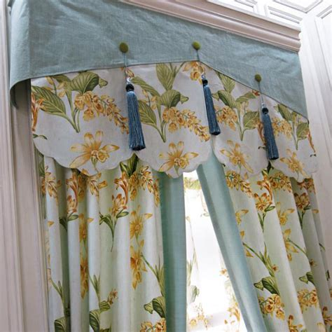 modern simple light green floral blackout curtains for