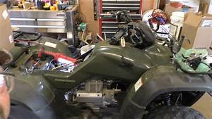 Honda Rancher 2006 Trx350te Replacing Carburetor By Kvusmc
