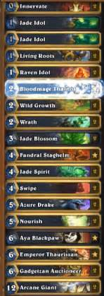 amaz jade golem druid deck mean streets of gadgetzan hs