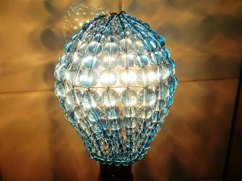 chandelier inspired glass lightbulb gls bulb cover