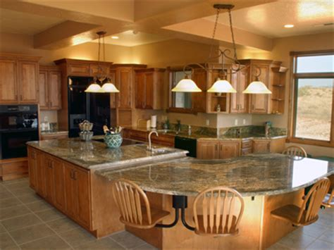 big kitchen island ideas large kitchen island with seating homes gallery
