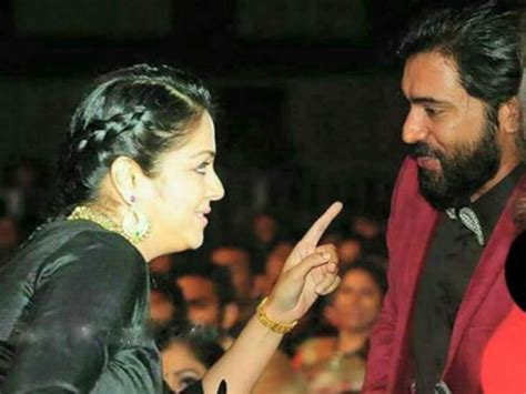 actress jyothika official facebook nivin pauly s fanboy moment with jyothika takes social