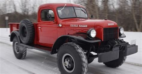 Restoring '48 Dodge Power Wagon Fulfills Wish