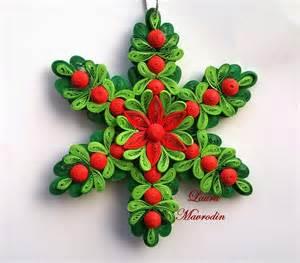 quilling my passion ornament pentru craciun