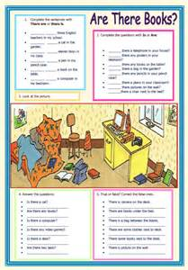 Complete Sentences Worksheet There Is There Are Elementary Worksheet