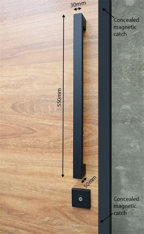 pull handle entrance set mm matte black black door handles house front door modern door