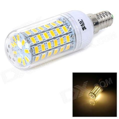 jrled e14 10w 700lm 3300k 5730 smd led warm white light bulb free shipping dealextreme