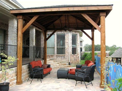 Outdoor Patio Covers by Wooden Patio Covers Give High Aesthetic Value And Best