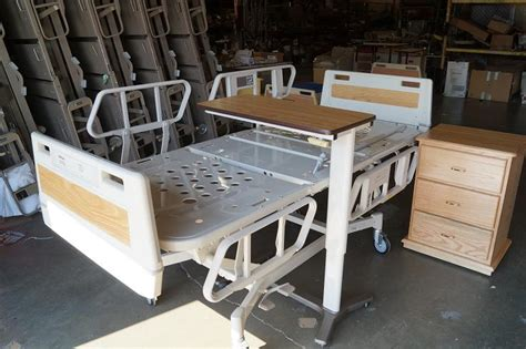 reconditioned hospital bed table for sale hospital beds