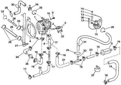 Johnson 150 Outboard Motor Parts Diagram