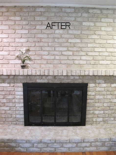 how to paint a fireplace 12 brick fireplace makeover ideas to update your old fireplace home and gardening ideas home