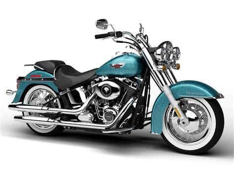 Harley-davidson Flstn Softail Deluxe 2015 3d Model Max Bip