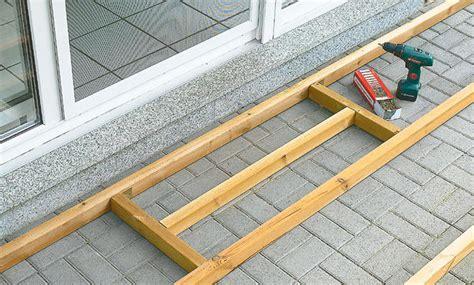 terrassendielen unterkonstruktion abstand holzterrasse unterkonstruktion selbst de