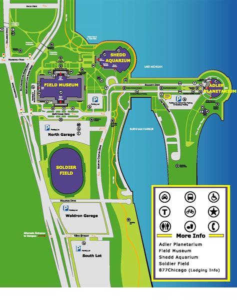 soldier field parking garage directions parking information soldierfield net