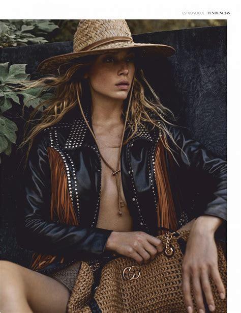 Hannah Ferguson In Vogue Magazine Mexico June 2019