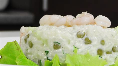 Rīsu salāti ar garnelēm - YouTube