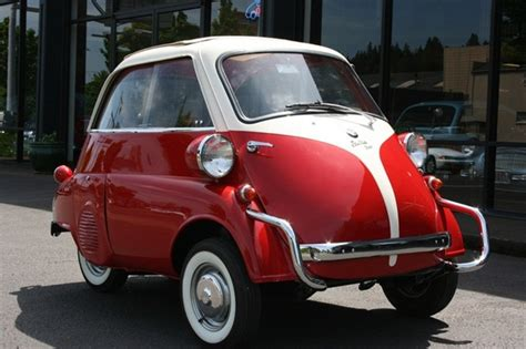 Bmw Isetta (front Door Opening), Our Favorite Student Ride