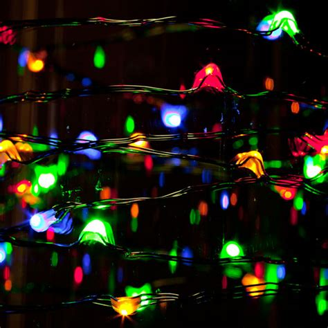 multi function lights 9 foot multi function multi colored light string at hooked