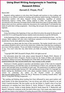 argumentative essay sample bio letter format With college essay topics