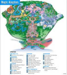 Disney World Magic Kingdom Map