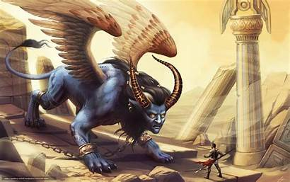 Sphynx Sphinx Monster Fantasy Deviantart Creature Mythical