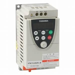 Toshiba Vf-nc1 Nano - 2 2kw 230v 1ph To 3ph