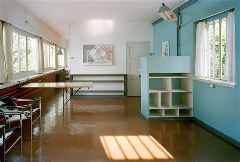 This stunning apartment has a modern interior design dominated in white surfaces. 17 Le Corbusier Buildings Added To UNESCO World Heritage List