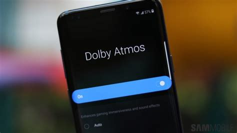 one ui android pie feature focus dolby atmos gets mode sammobile