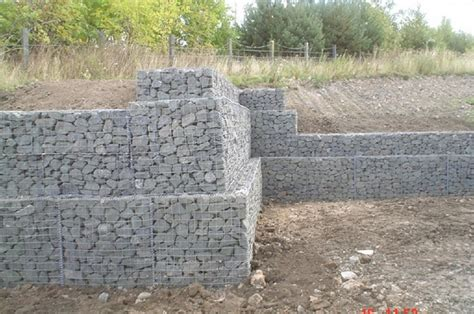 rock retaining wall cost gabion retaining wall construction