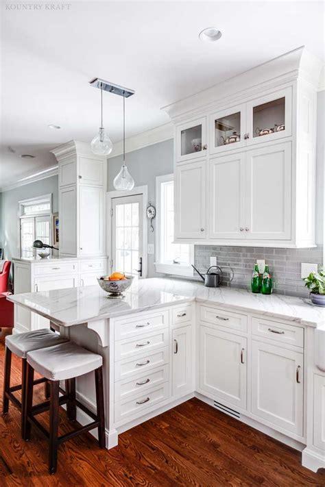 pin  kountry kraft   custom kitchen cabinets