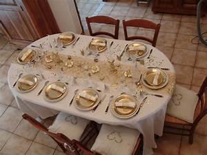 Table De Noel Blanche : table de noel comme chez mamie ~ Carolinahurricanesstore.com Idées de Décoration