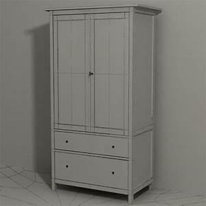 Ikea Hemnes Garderobe : ikea hemnes big wardrobe 3d model 9 max free3d ~ A.2002-acura-tl-radio.info Haus und Dekorationen
