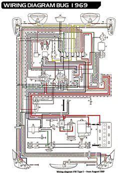 Wiring Diagram In Color 1964 Vw Bug Beetle Convertible The by Vw Beetle Engine Blueprint 3d Cad Model Grabcad V