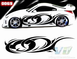 tribal style 69 vinyl vehicle graphic kit With vinyl lettering vehicle graphics