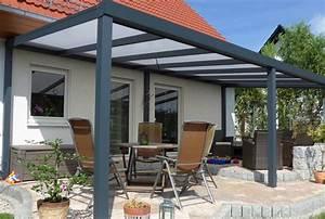 Terrassen berdachung aluminium wandanbau for Terrassenüberdachung aus aluminium