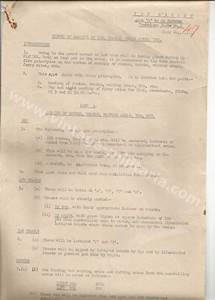 original appendix document for operation plunder soja With appendix d documents