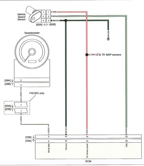 Wiring For Speed Sensor Harley Davidson Forums