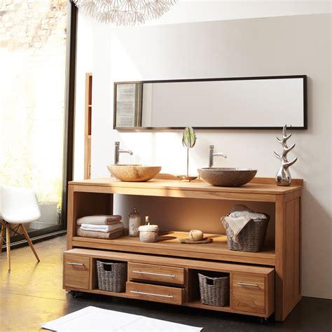 meuble sous vasque bois meubles sous vasque salle de bain