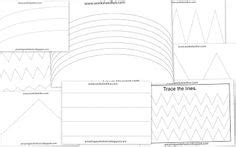 tracing images preschool worksheets preschool