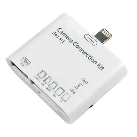 usb tf sd camera connection kit card reader adapter