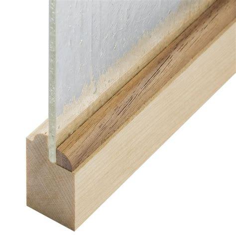 quarter  real hardwood panel retainer molding