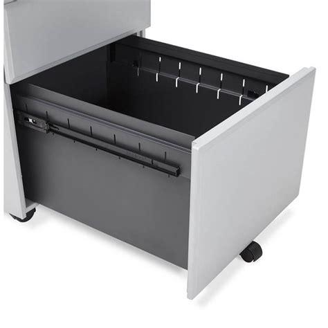 bureau metal gris caisson de bureau design 3 tiroirs mathias en métal gris
