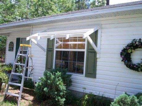 yawning   awning diy awnings   cheap home fixated   diy awning