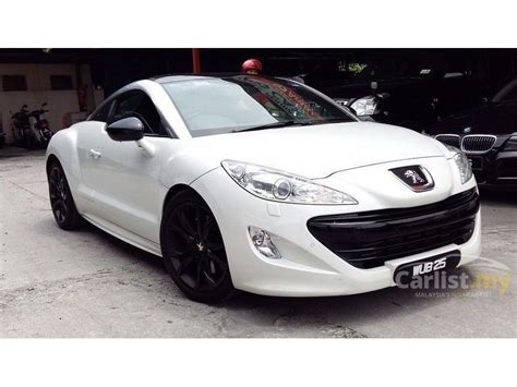 Peugeot Rcz Coupe by Peugeot Rcz 2012 1 6 In Kuala Lumpur Manual Coupe White