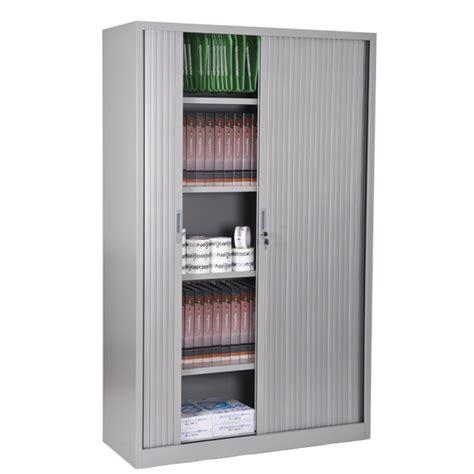 armoire de bureau avec porte coulissante