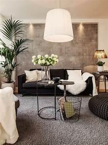 Wohnzimmer Ideen Wandgestaltung : 120 wohnzimmer wandgestaltung ideen akzentwand moderne wohnzimmer und neutrale farbe ~ Sanjose-hotels-ca.com Haus und Dekorationen