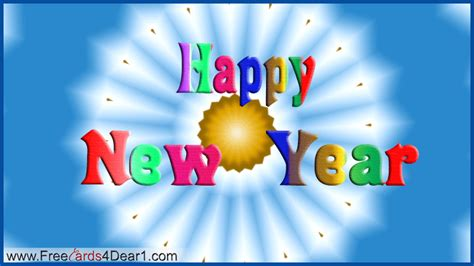 cards with happy new year