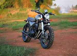 Racing Caf U00e8  Kawasaki Ninja 250 2009  U0026quot The Bluster U0026quot  By Studio Motor