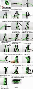 How To Make A Sawtooth Paracord Bracelet